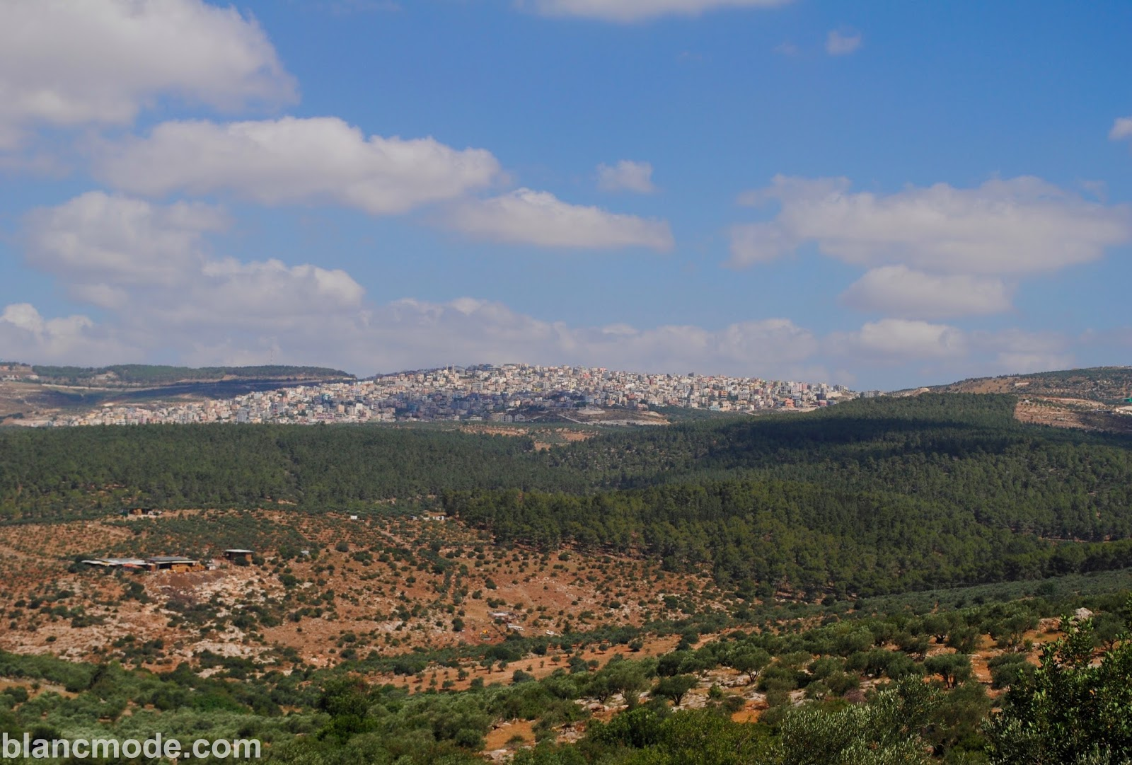 israel city view