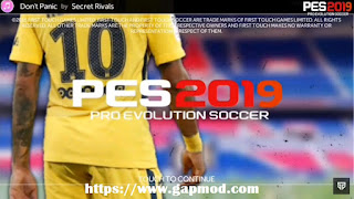 FTS 19 Mod PES 2019 for Android