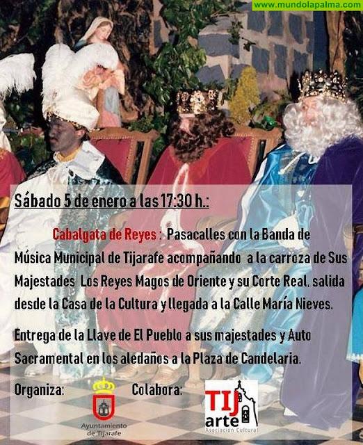 Cabalgata de Reyes en Tijarafe