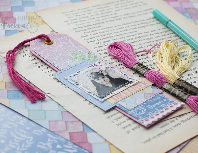 закладки для книг с фото