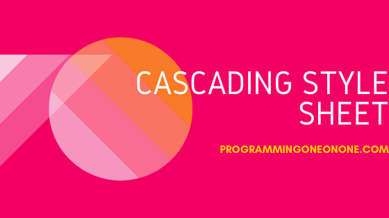 Download CSS programming pdf book for free