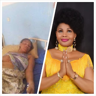 Nigerian Gospel Singer - Gloria Doyle battles for life, Down with Gall Bladder Inflammation