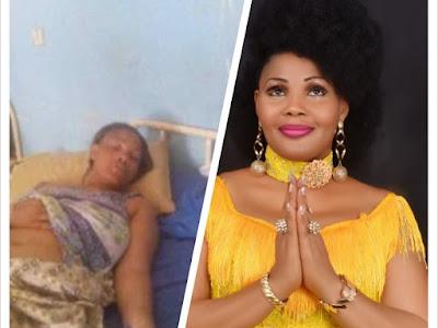 Nigerian Gospel Singer - Gloria Doyle battles for life, Down with Gall Bladder Inflammation