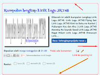 Cara membuat Garis Pada halaman Postingan di blogger