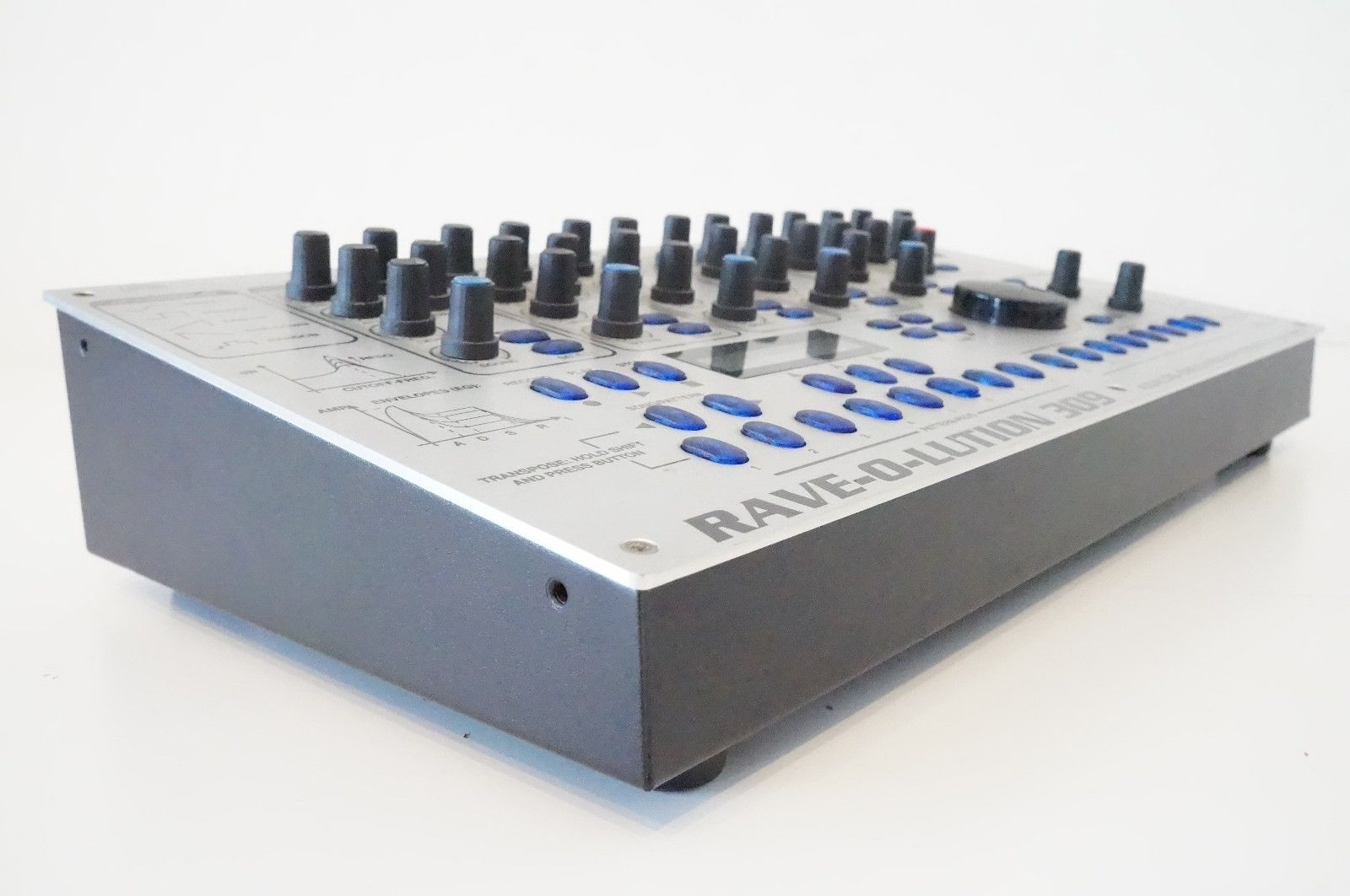 matrixsynth quasimidi rave o lution 309 synthesizer drum machine sequencer sn 43332. Black Bedroom Furniture Sets. Home Design Ideas