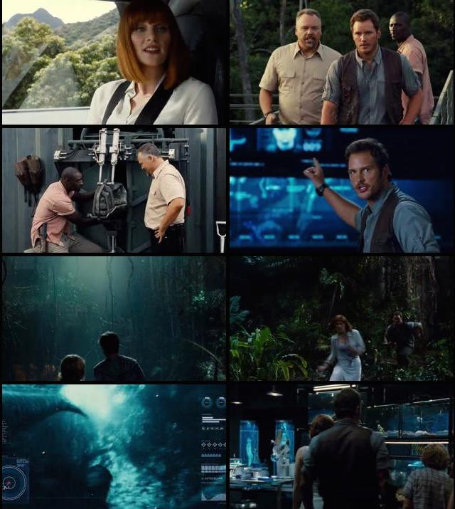 Jurassic World 2015 Dual Audio Hindi BRRip 480p