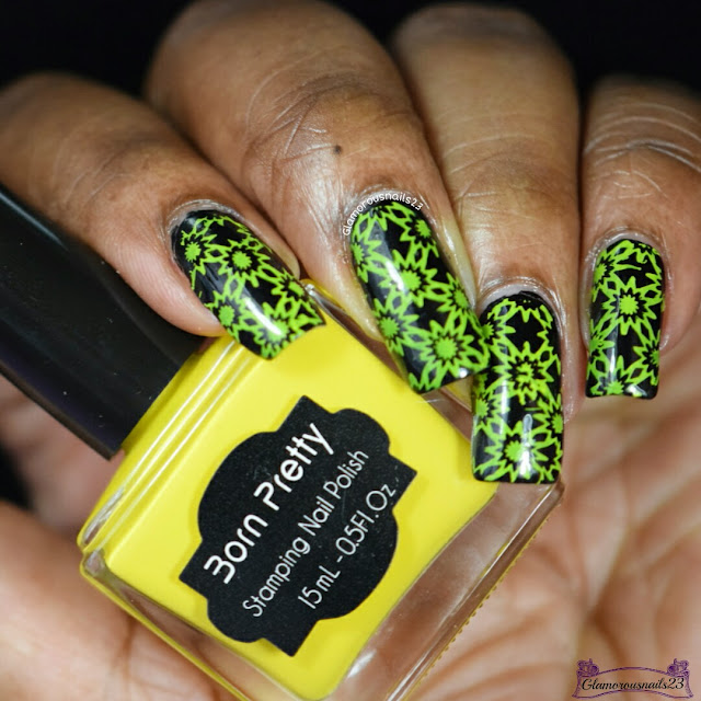 Black & Yellow Stamping