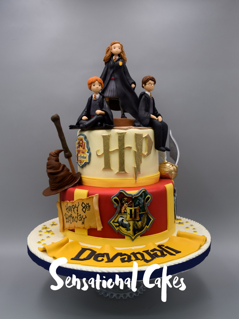 The Sensational Cakes Harry Potter With The Golden Snitch