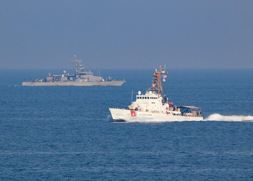 Coasties in Arabian Gulf