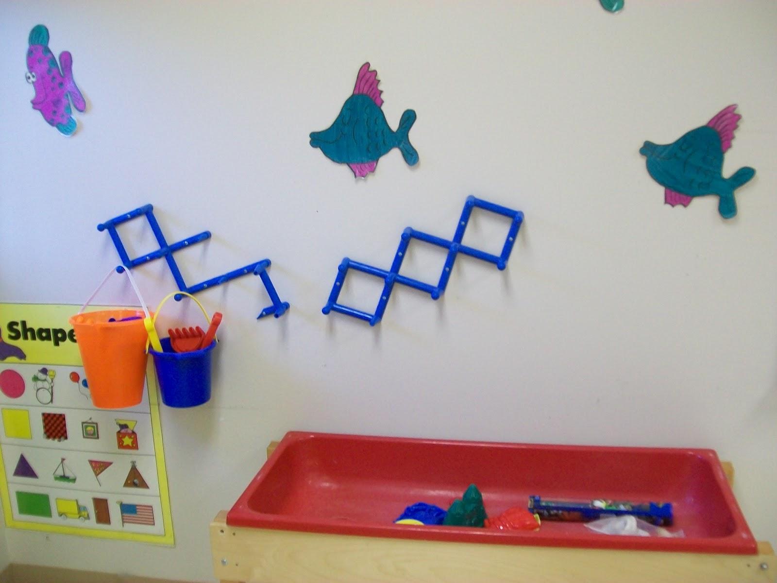 Cozy Kindergarten Ocean Exploration Room