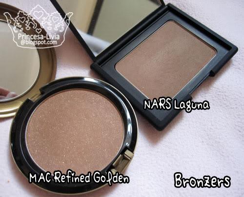 mac refined golden vs nars laguna