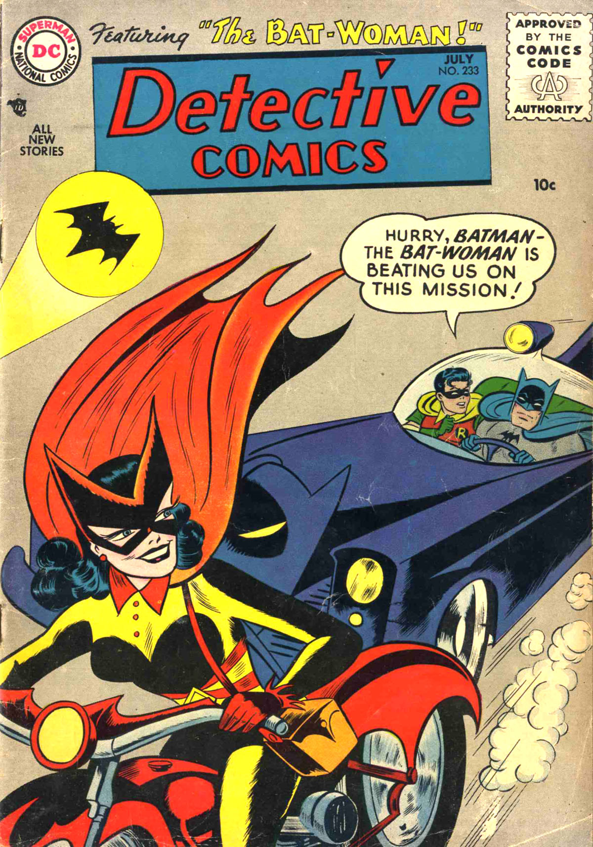 Read online Detective Comics (1937) comic -  Issue #233 - 1