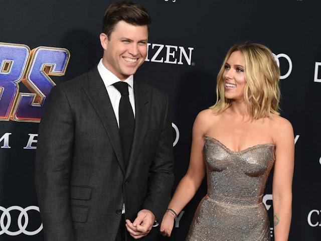 Scarlett Johansson se casará con su novio Colin Jost