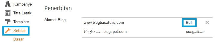 setting www domain