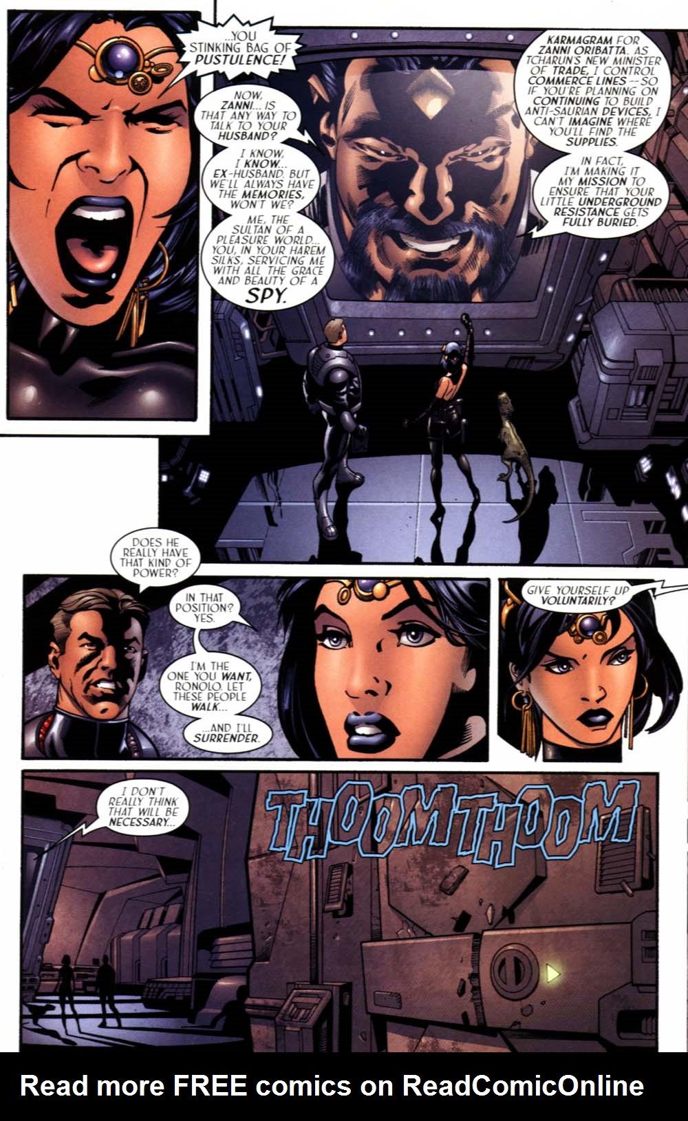 Read online Sigil (2000) comic -  Issue #19 - 11
