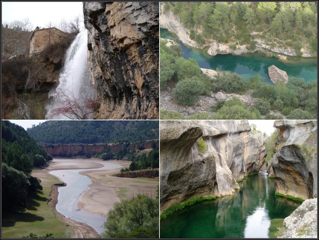 Cuatro vistas del Río Júcar