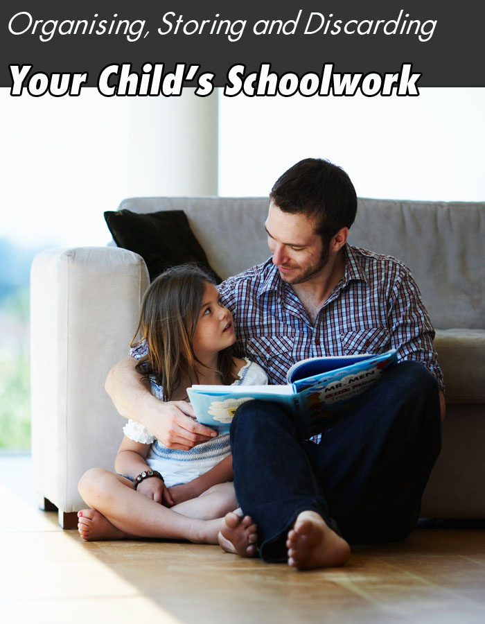 Organising, Storing and Discarding Your Child's Schoolwork