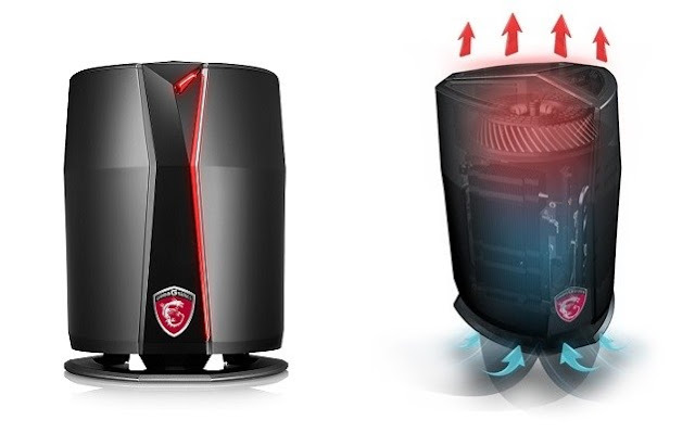 MSI Vortex Gaming Desktop Mini Mendukung VR