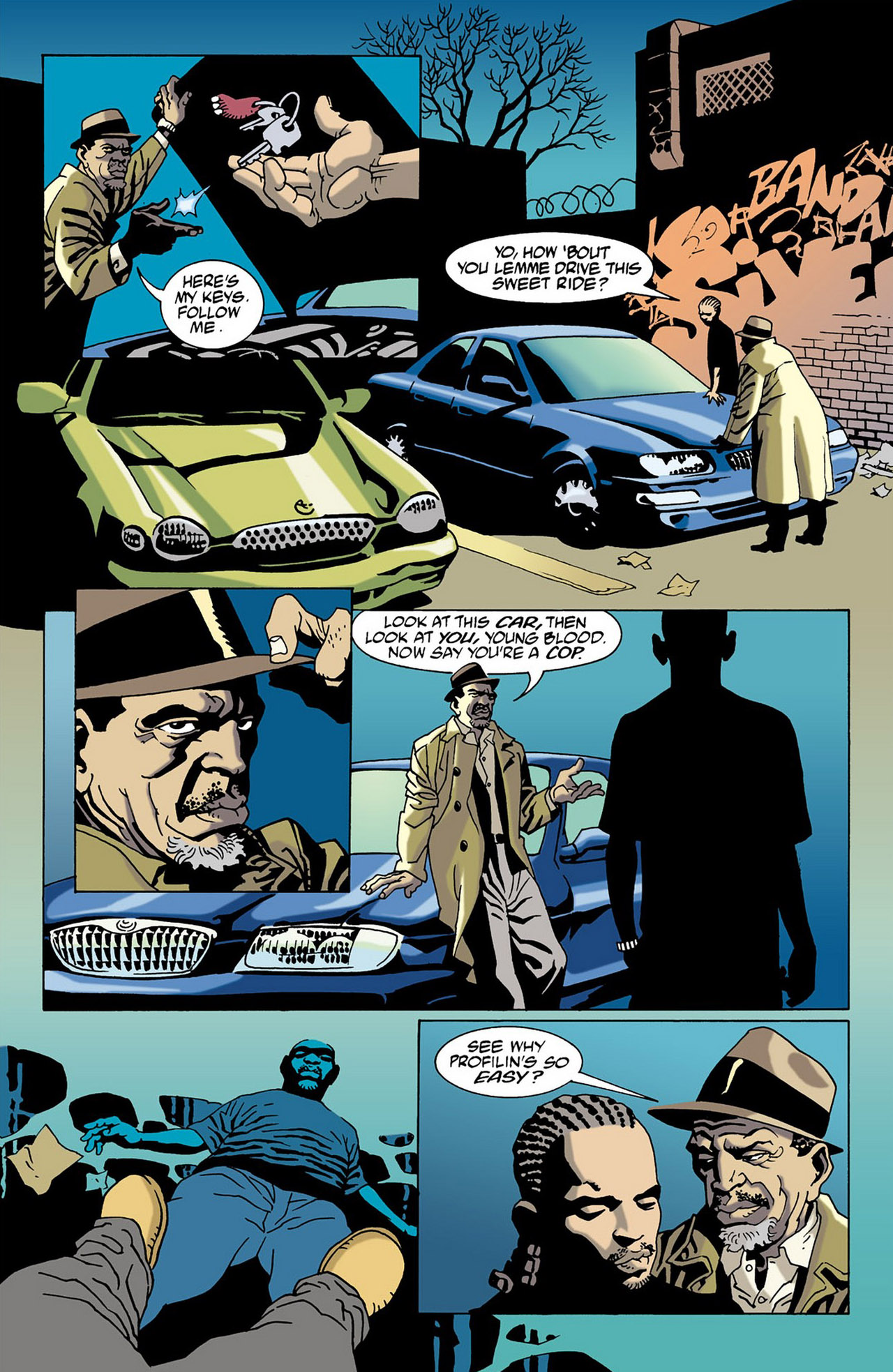 Read online 100 Bullets comic -  Issue #16 - 9