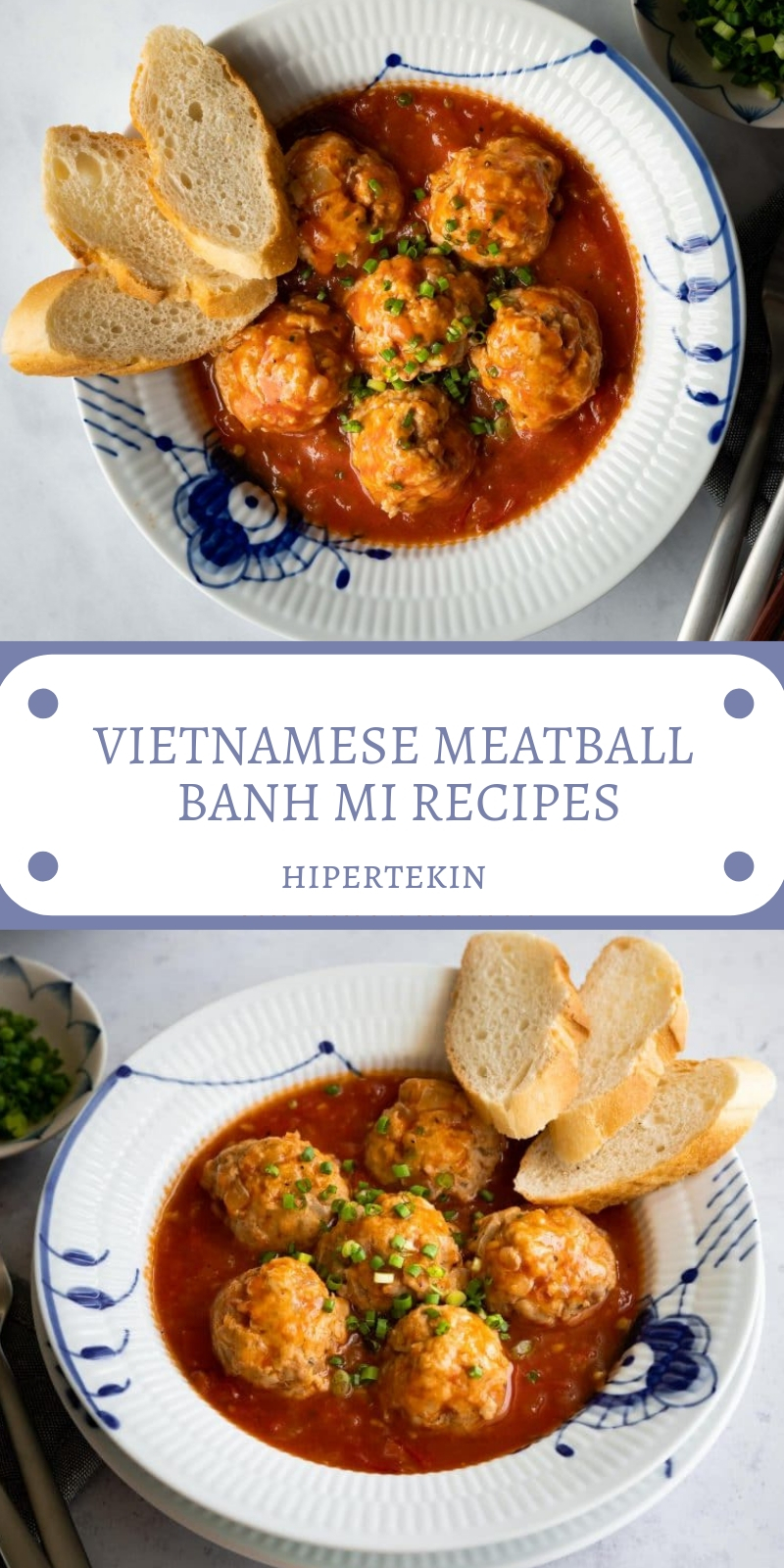 VIETNAMESE MEATBALL BANH MI RECIPES