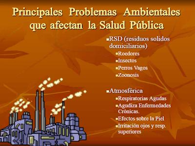 Consecuencias de los problemas Ambientales