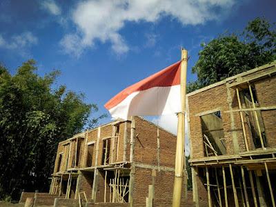 Perumahan di Batu Malang - Exotic Panderman Hill memiliki unit tipe 46 yang merupakan ukuran terkecil di perumahan ini, dan terus dikerjakan untuk segera diselesaikan.