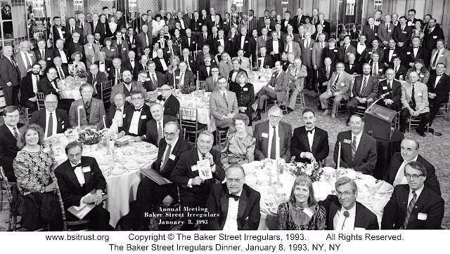 The 1993 BSI Dinner group photo