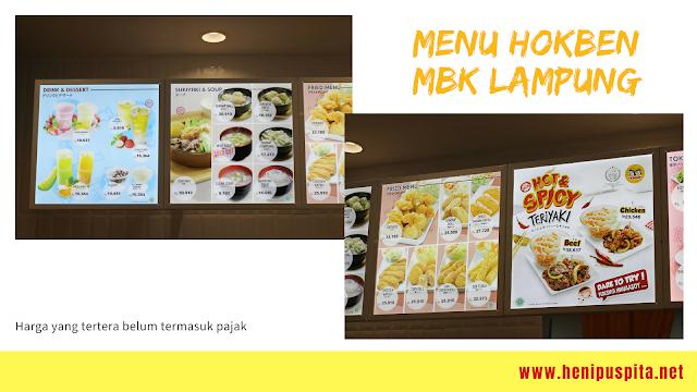 Kenal Lebih Dekat Dengan Hokben Lampung Serta Menunya Yang Enak
