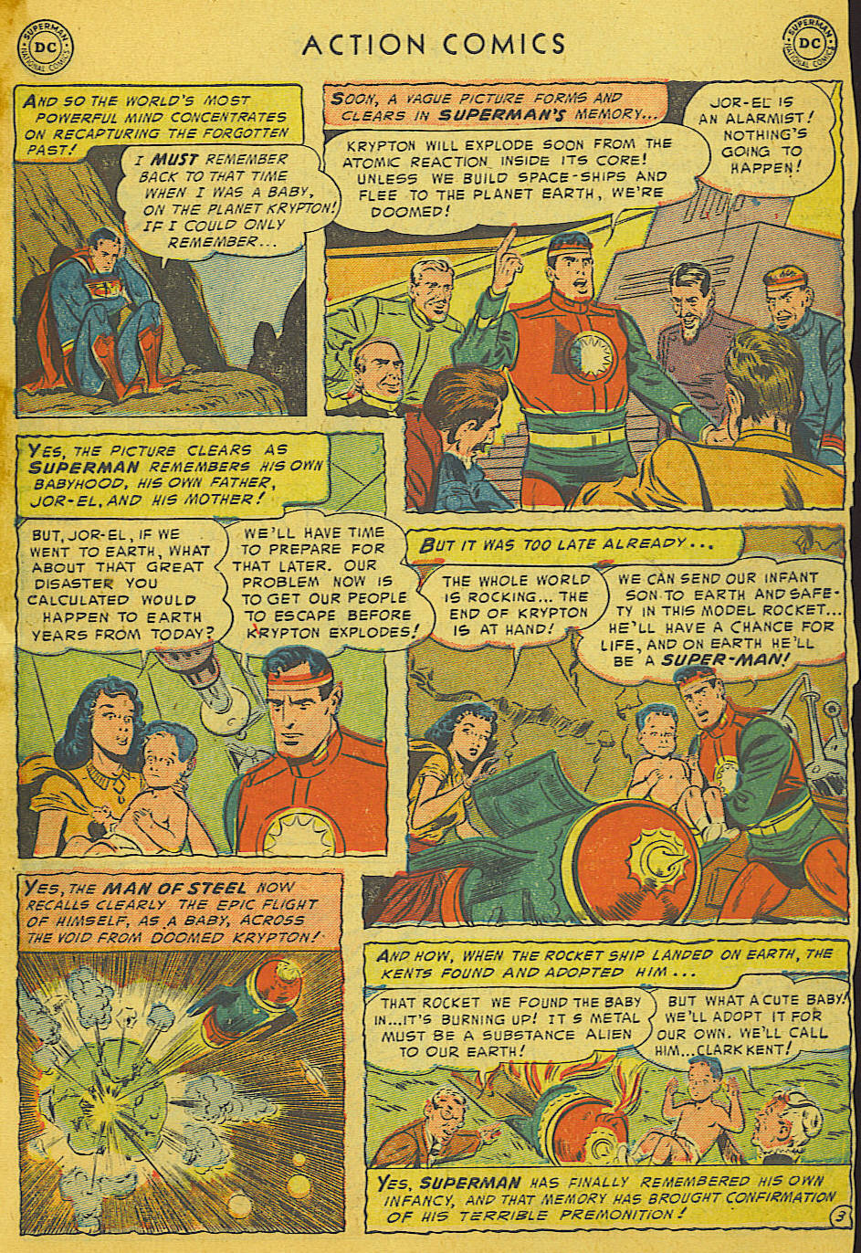 Read online Action Comics (1938) comic -  Issue #186 - 5