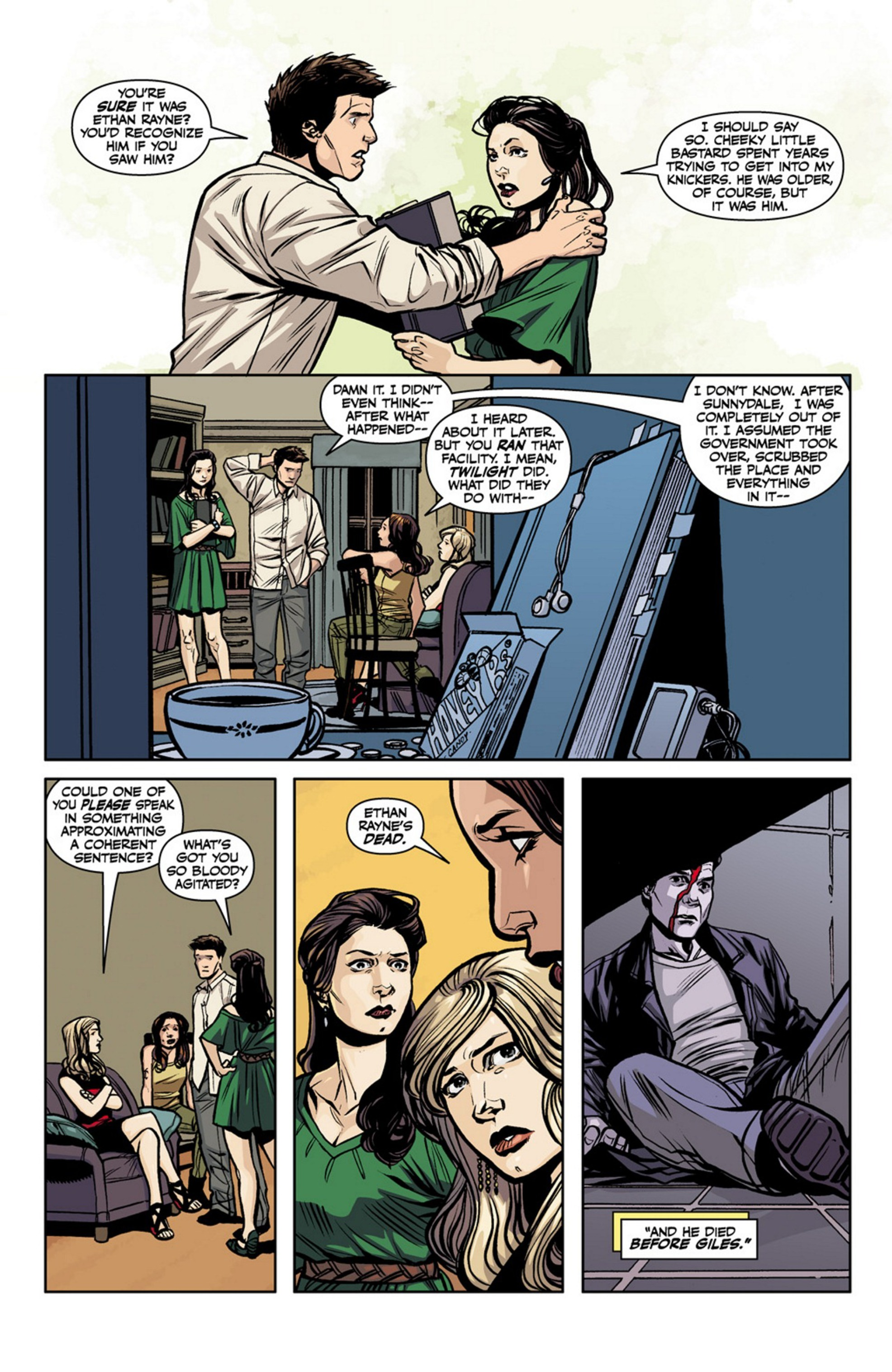 Read online Angel and Faith comic -  Issue #17 - 15