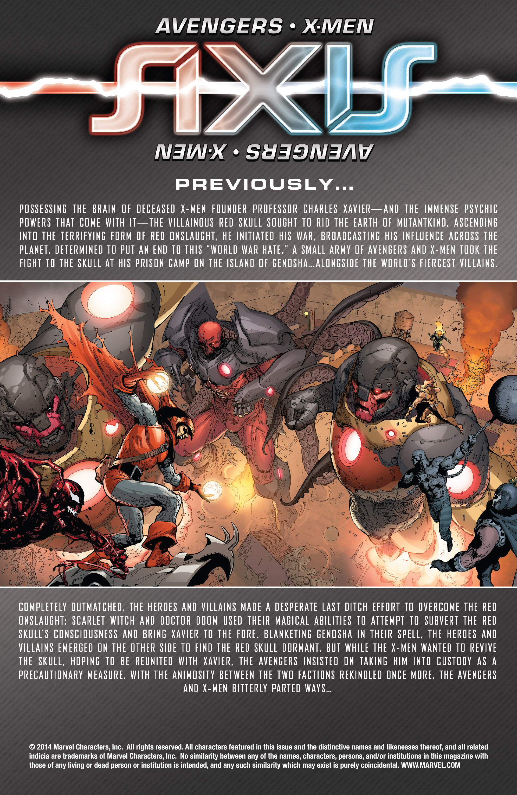 Read online Avengers & X-Men: AXIS comic -  Issue #4 - 2