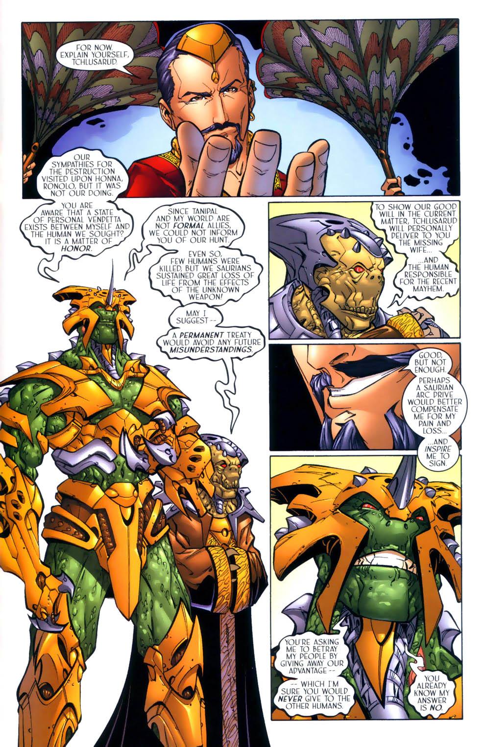 Read online Sigil (2000) comic -  Issue #2 - 14