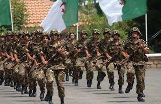 Soldats algériens