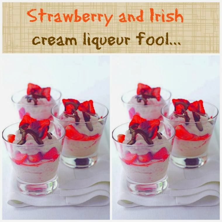Strawberry And Irish Cream Liqueur Fool