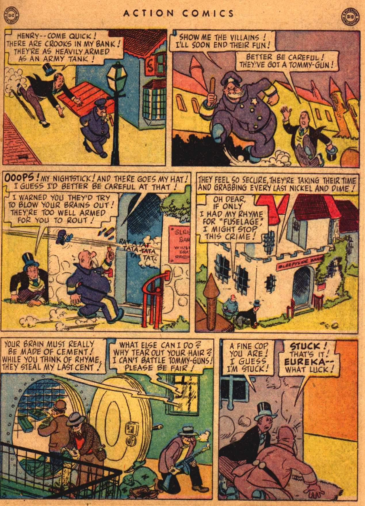 Read online Action Comics (1938) comic -  Issue #108 - 34