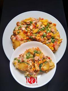 How to Make Potatoe Fritata 1