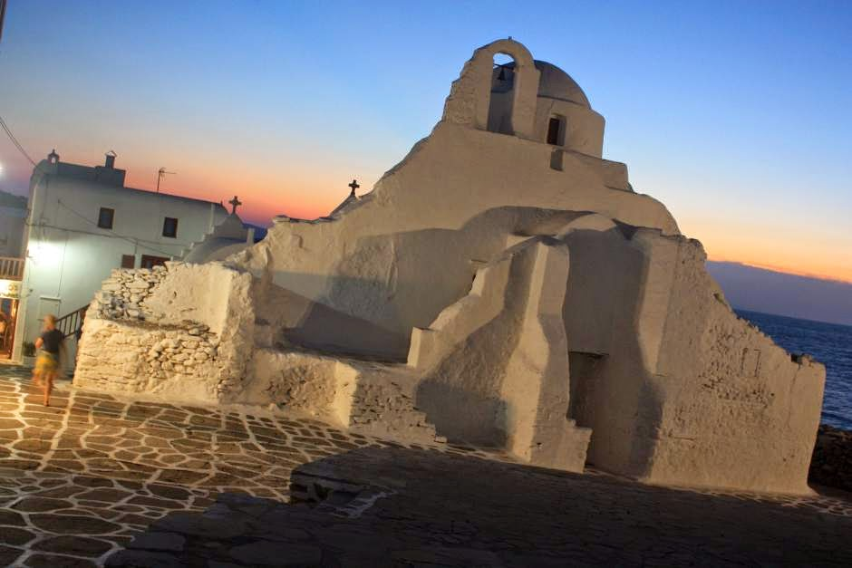 Paraportiani Church in Mykonos