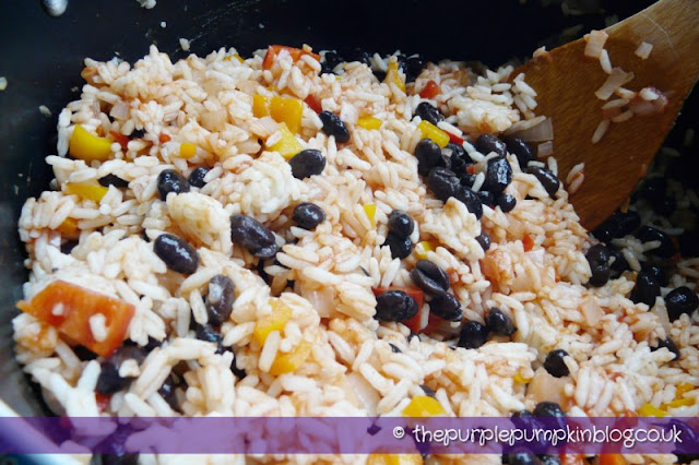 Mexican Rice at The Purple Pumpkin Blog