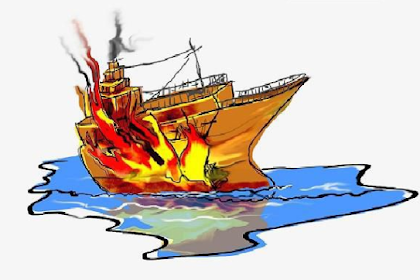 Kapal Penumpang Terbakar di Perairan Gresik, 3 Orang Hilang