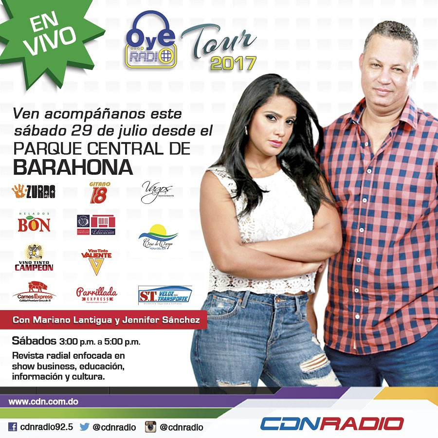 CDN RADIO TRANSMITE EN VIVO DESDE BARAHONA
