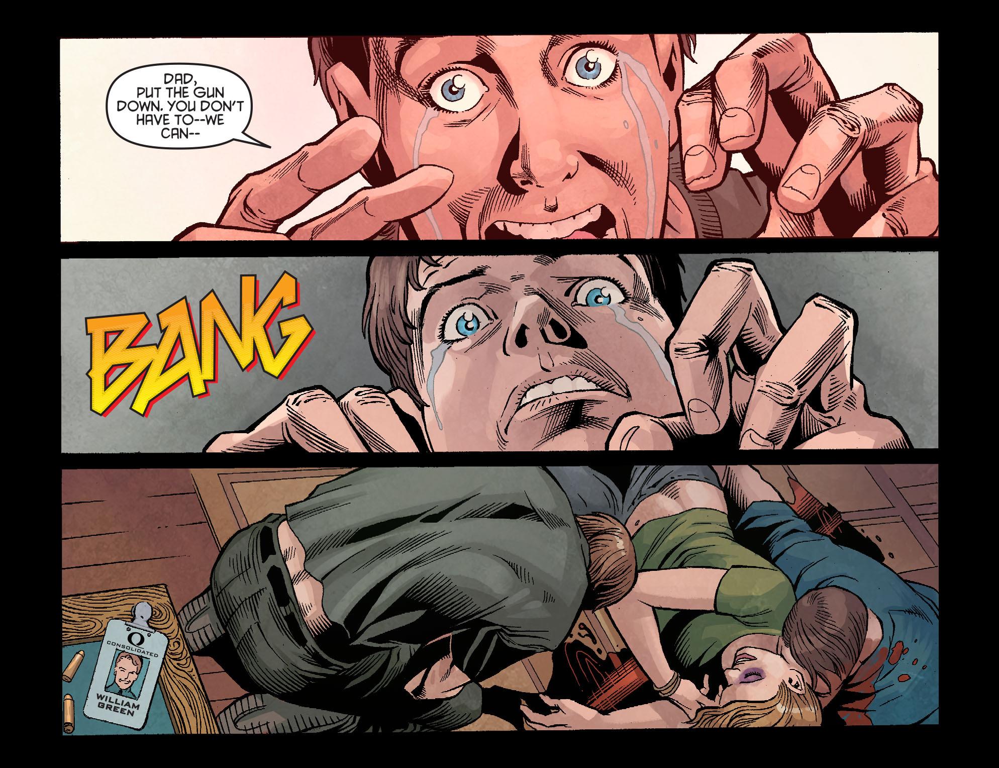 Read online Arrow: Season 2.5 [I] comic -  Issue #1 - 8