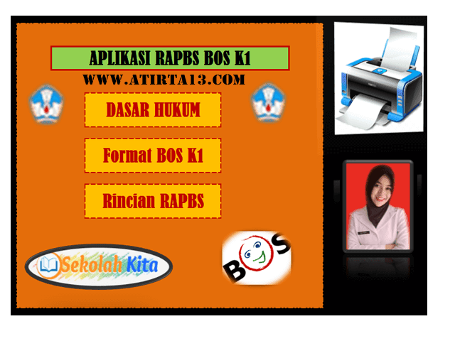 Aplikasi RAPBS Format BOS K1 Format Excel