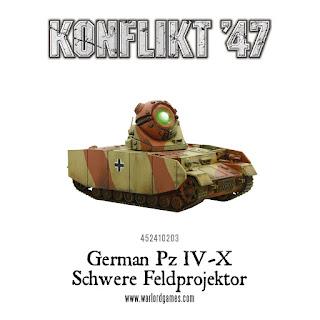 Konflikt 47 - German PZIV-X Schwere Feldprojektor