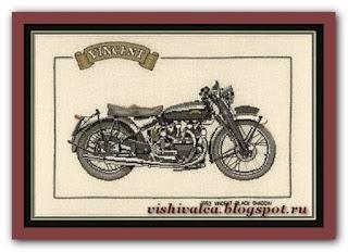 "Heritage Crafts Серия: Motorbikes CVT197 1952 ""Vincent Black Shadow"""