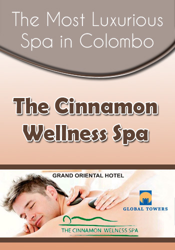 The Cinnamon Wellness Spa – massage hub in Colombo