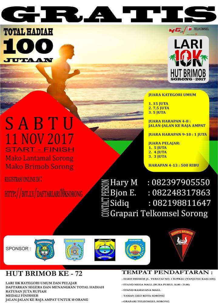 Sorong 10K • 2017