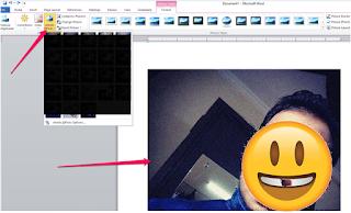 cara edit representasi menerima Ms Word-8