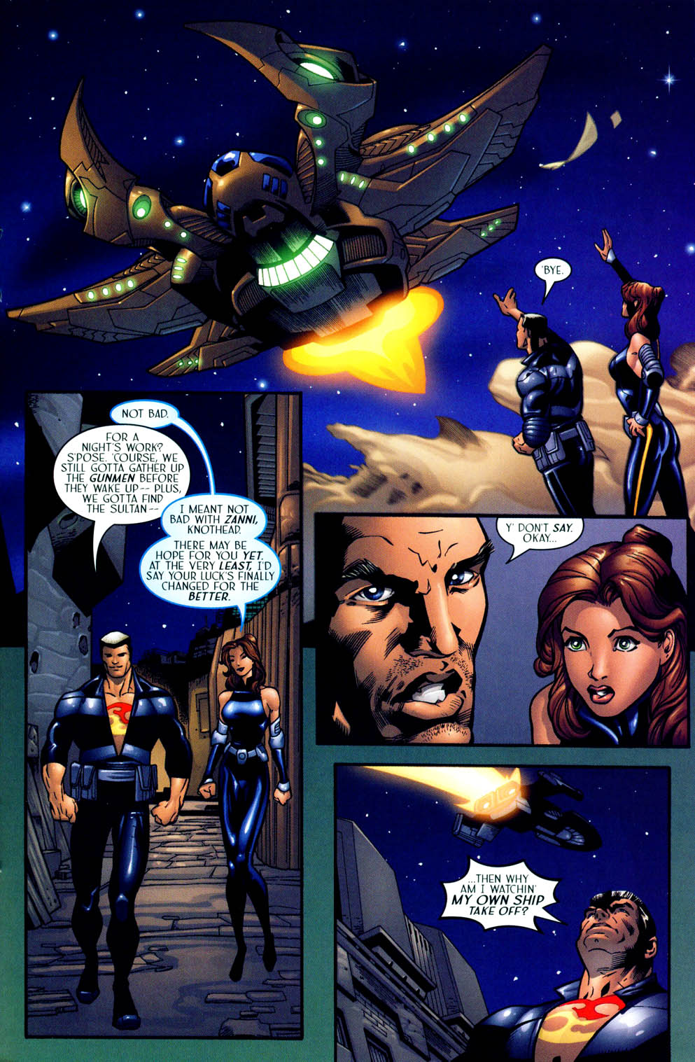 Read online Sigil (2000) comic -  Issue #12 - 25