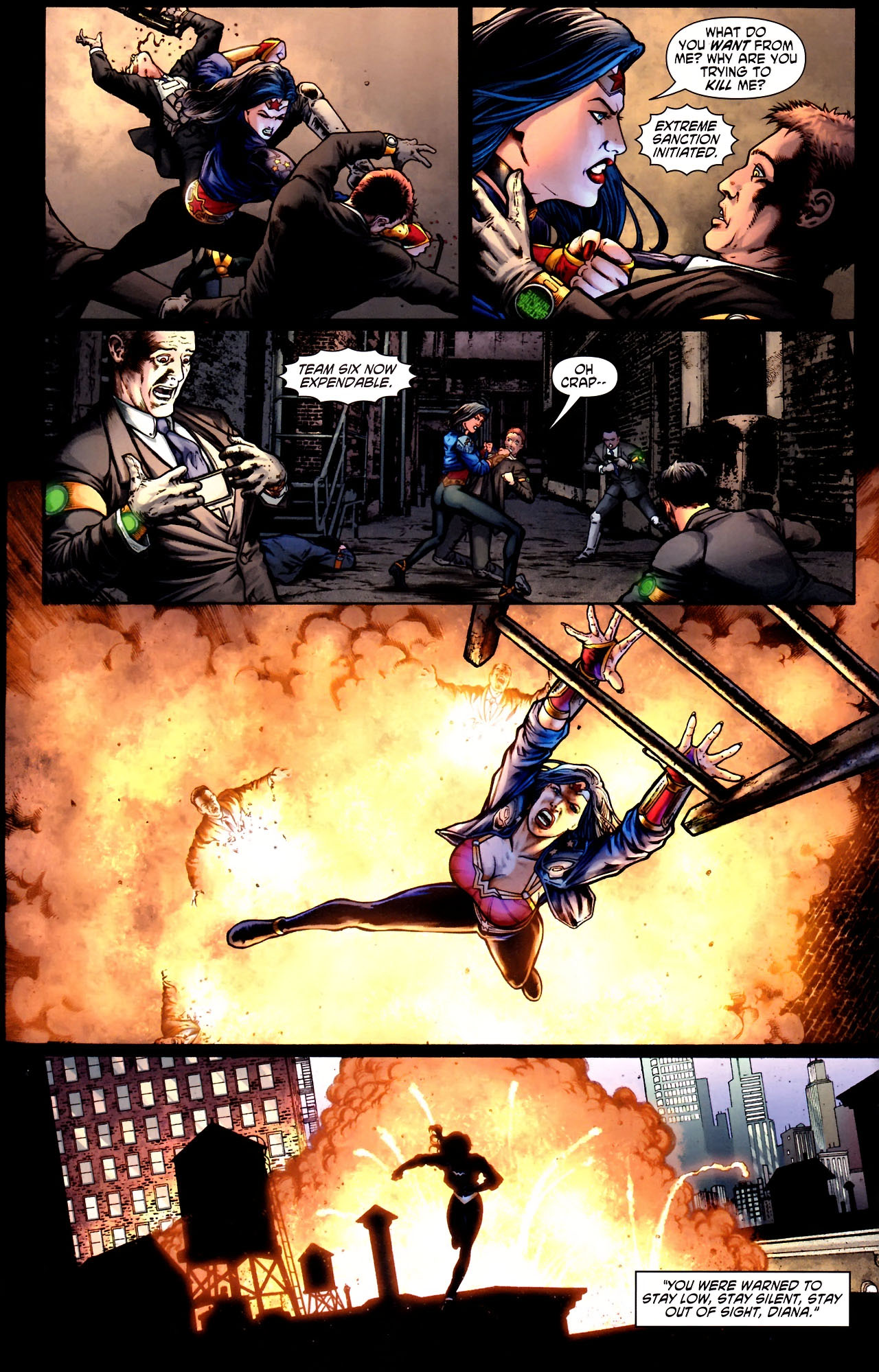 Read online Wonder Woman (2006) comic -  Issue #600 - 39