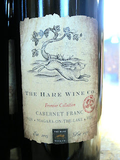 The Hare Frontier Cabernet Franc 2013 (89 pts)